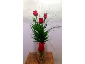 Detalle 3 rosas