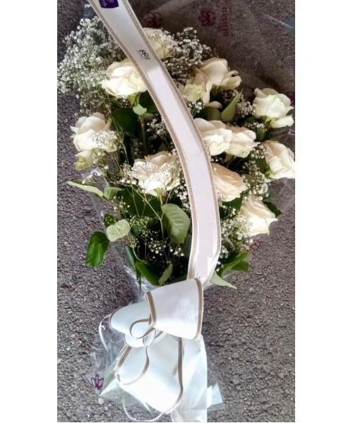 Ramo funeral Rosas Blancas