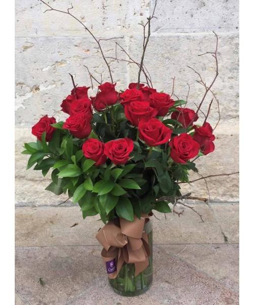 Rosas ramo 24 rosas