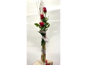 Amor en Detalle 3 rosas