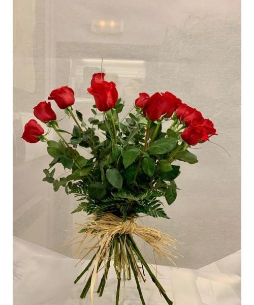 Amor con 12 Rosas