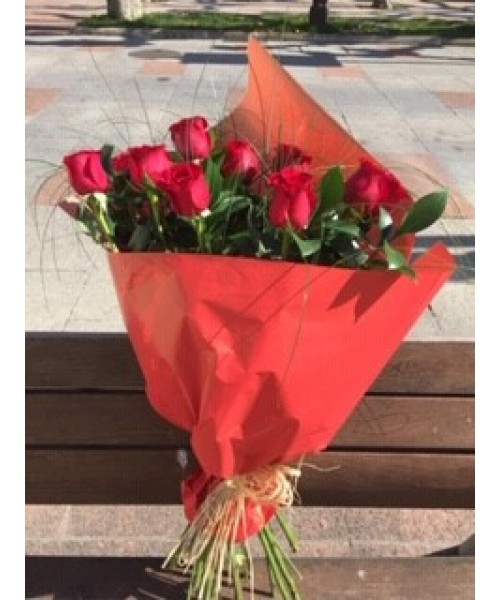 Rosas ramo 12 rosas rojas