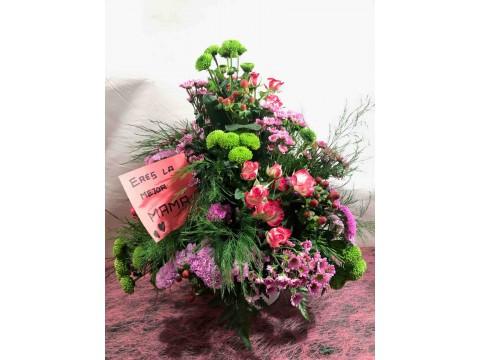 Centro decorativo de flor