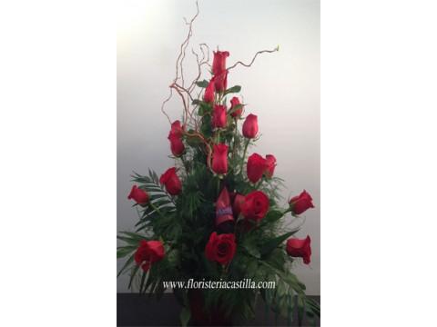 Centro 18 rosas
